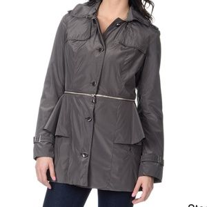 Betsey Johnson Convertible Trench Jacket